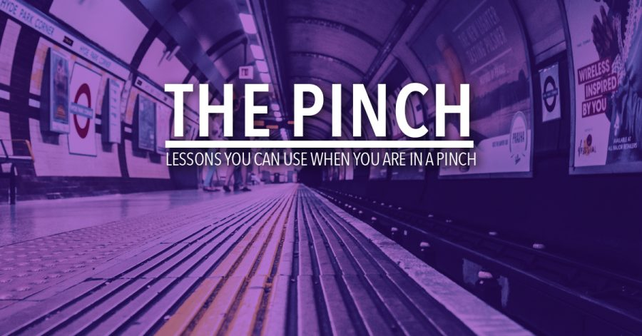 The Pinch: 3 Lessons on Family