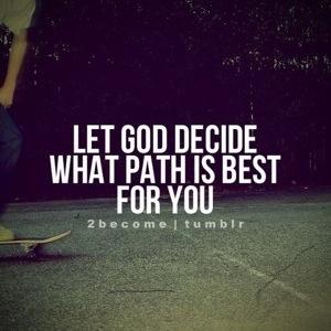 Let God Decide