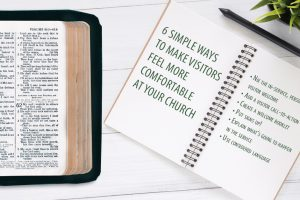 6 simple ways to make visitors more comfortable at your church