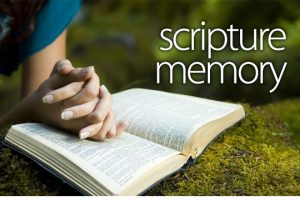 Why We Should Memorize Scripture.